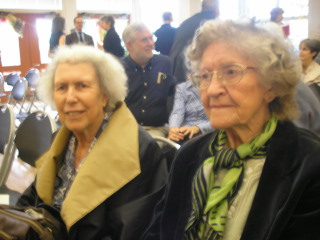 Two longtime dancing pals of Ruth Meniketti attended her memorial at Albany Community Center on Saturday noon